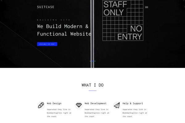 HTML5/CSS3湖水绿色白色个人简历网站模板